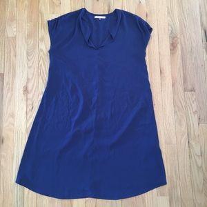 Asos Maternity blue shorts sleeve dress size 8